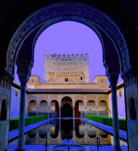 19 Comares Palace Courtyard
