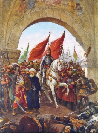 Mehmet II Enters