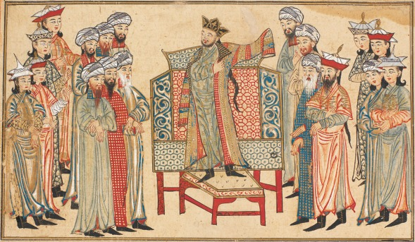 Mahmud Ghanznawi Robe from Caliph
